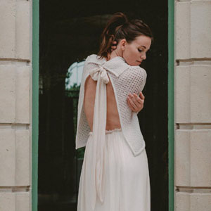 Collection robe de mariée Lily. L'Amoureuse by Ingrid Fey